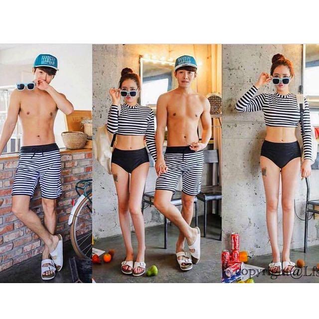 Couple Swimwear