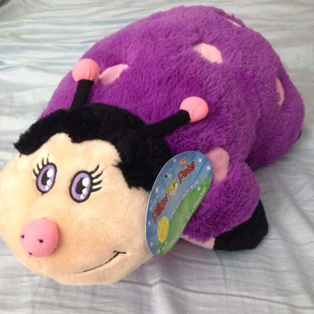 Dreamy ladybug Pillow Pet