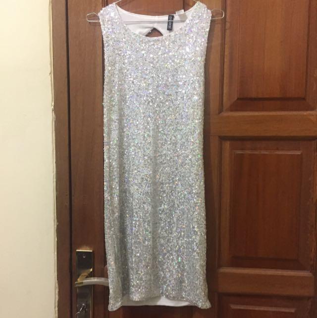 Dress Sequin H&M