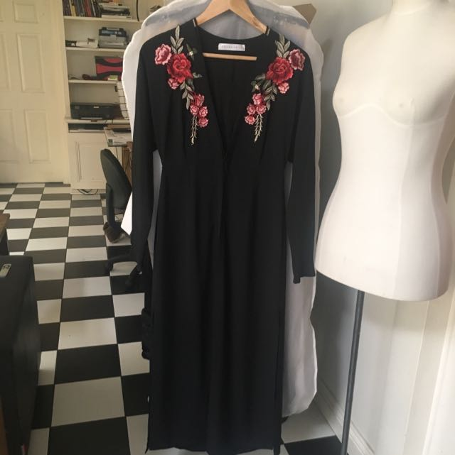 Embroidered Full Length Jacket