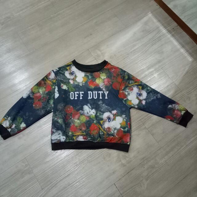 Flowers Sweater
