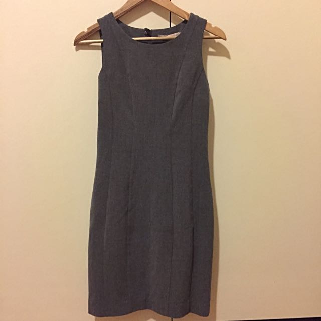 Forever 21 Grey Suit Dress