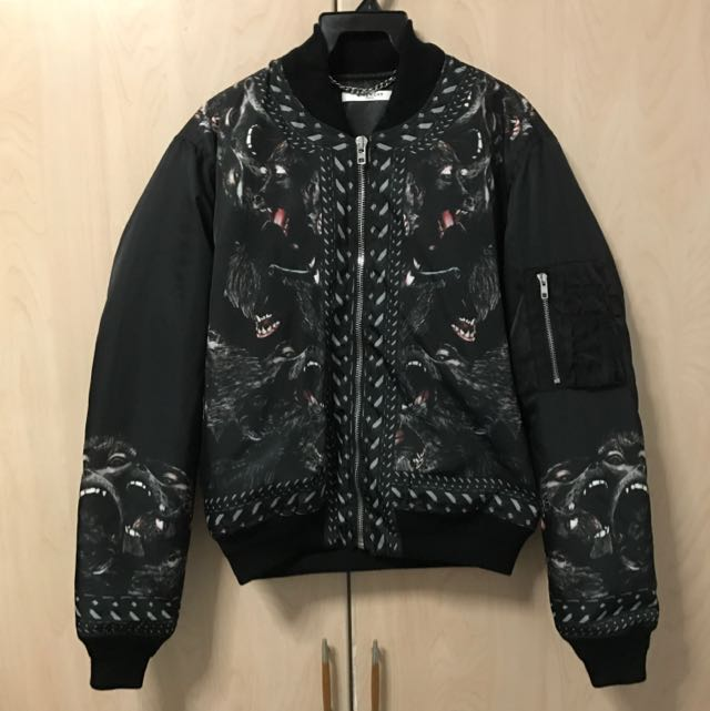 44f4cd646 Givenchy Monkey Brothers Bomber Jacket, Men's Fashion, Clothes on ...