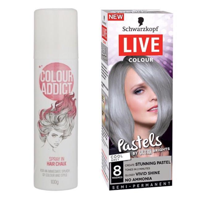 Hair Chalk & Dye, Health & Beauty, Hair Care & Styling on Carousell