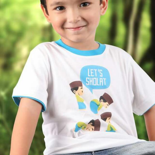 Kaos Anak Muslim Brand Afra Kids