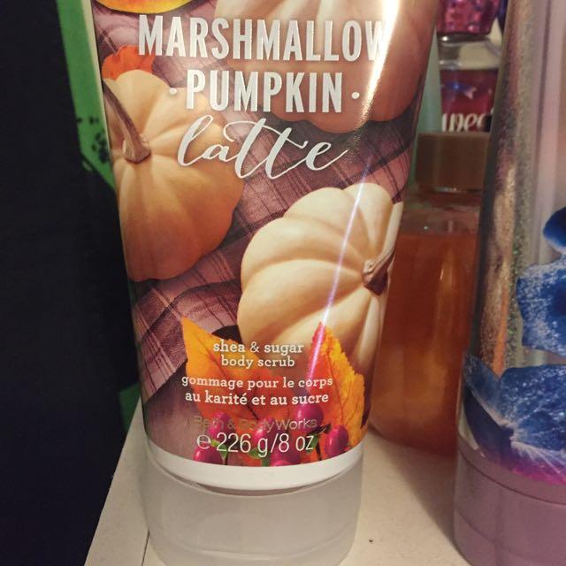 Marshmellow Pumpkin Latte