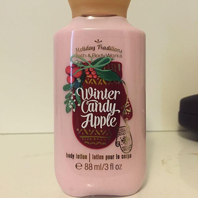 Mini Winter Candy Apple