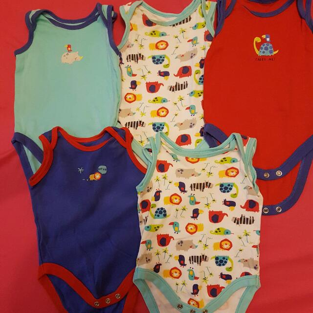 Mothercare Onesies - set of 5