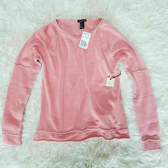 🎉NEW! FOREVER 21 SEAMED FLEECE PINK