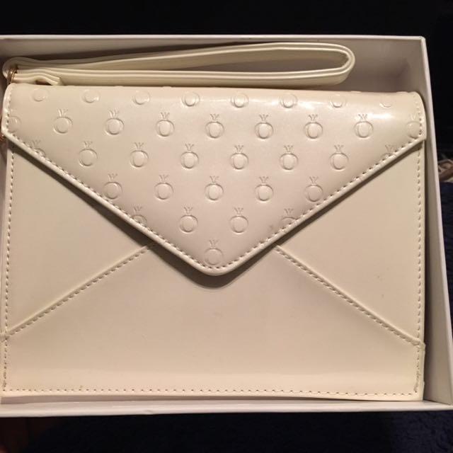 Pandora Leather Clutch