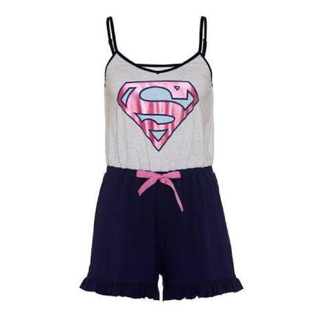 Peter Alexander Supergirl Jumpsuit Pyjamas