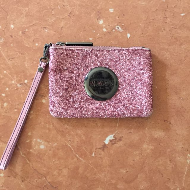 Pink Sparkly Mimco Coin Purse