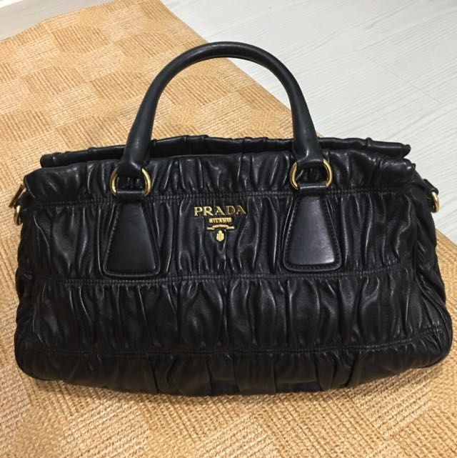 b2ec724803 ... inexpensive prada leather bag womens fashion bags wallets on carousell  4d58d 688dc