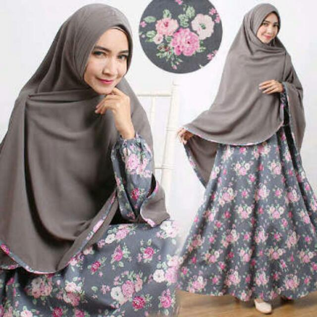 Image result for gamis katun jepang