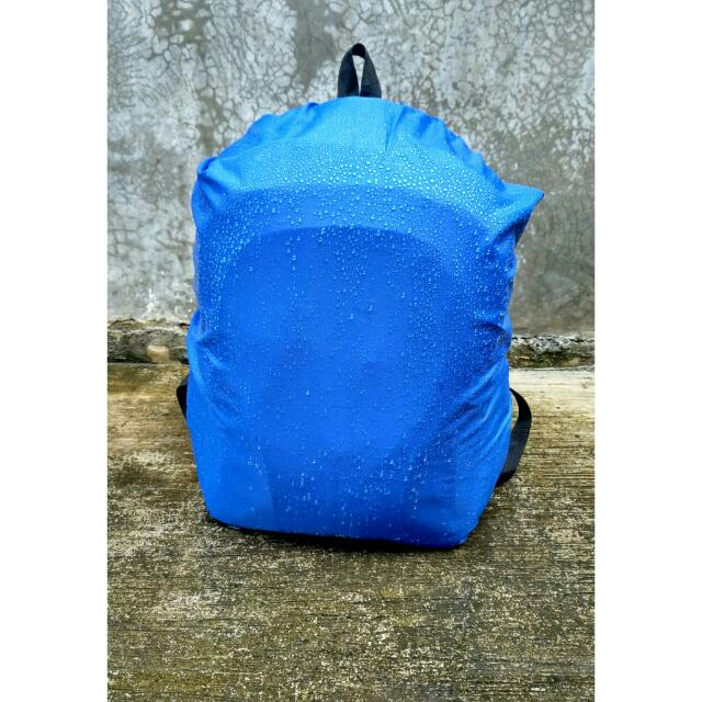 Rain Cover Tas Polos 25 30liter Bahan Polyester Waterproof 100 Tahan Air Olshop Fashion Olshop Pria On Carousell