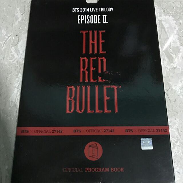 [RARE] BTS TRB Program Book in Japan