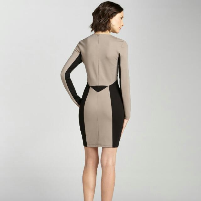 Rebecca Minkoff Harriet Dress in Neutral XS/S