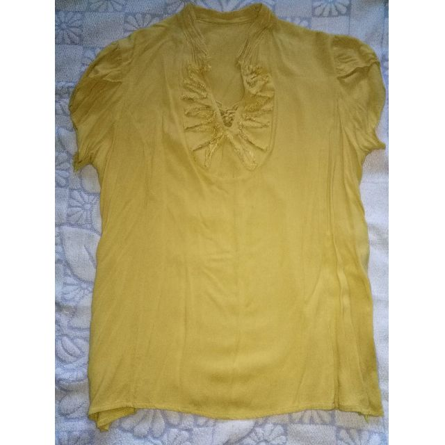 REPRICED! YELLOW BLOUSE