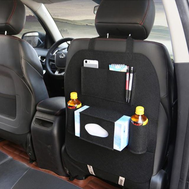 Seen On TV Car Back Seat Organizer BLACK Auto Accessories Others Carousell