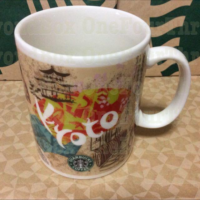 Starbucks KYOTO Japan Collectible Mug