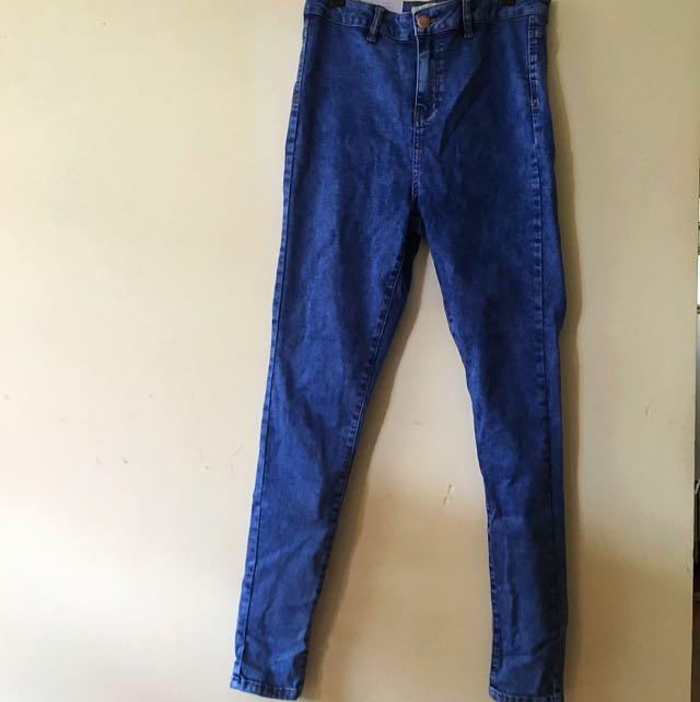 Super Skinny High Waist New Look Jeans