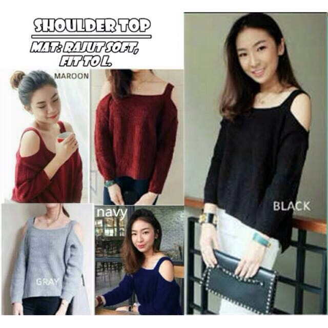 SWEATER RAJUT SABRINA