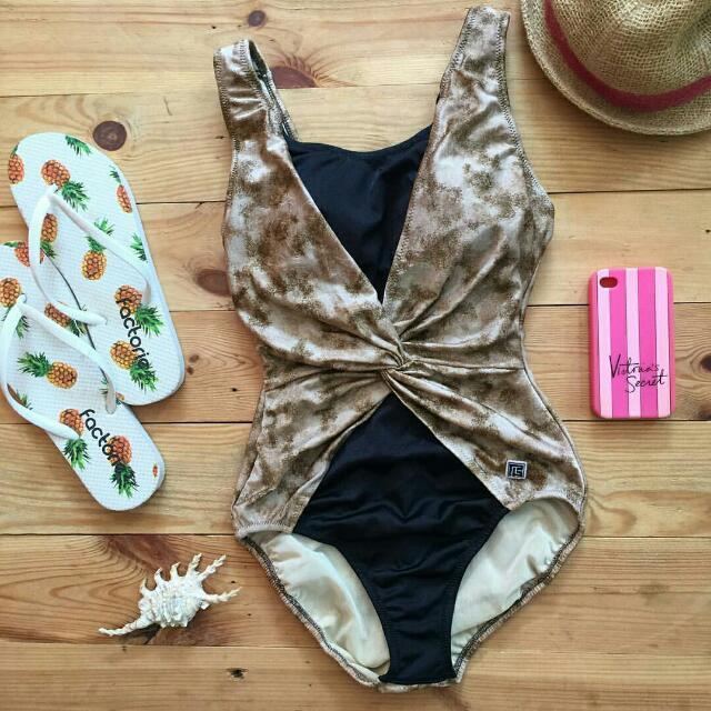 Swimsuit Monokini Baju Renang Bikini Mini