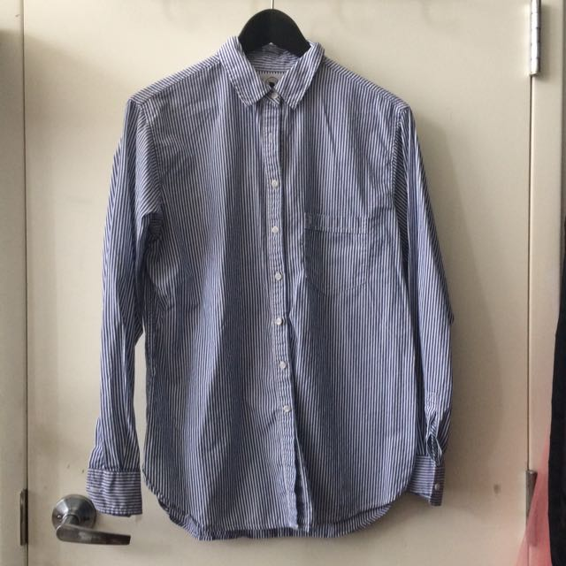 Talula Aritzia Boyfriend Shirt
