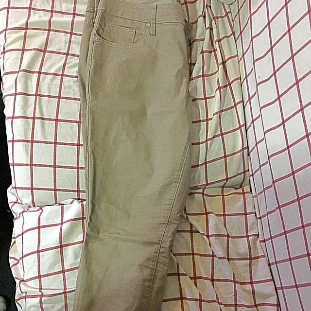 Tan Skinnies Size 12