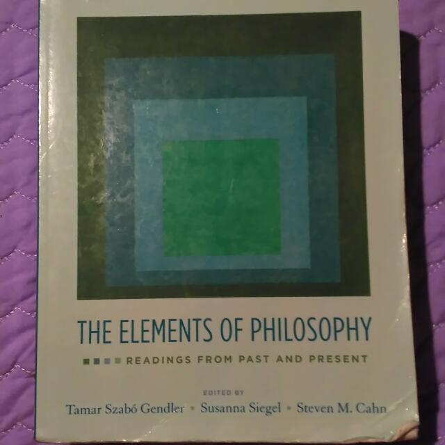 Textbook For Philosophy Students.