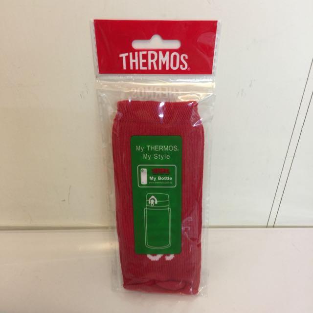 全新膳魔師Thermos杯瓶保護套-紅