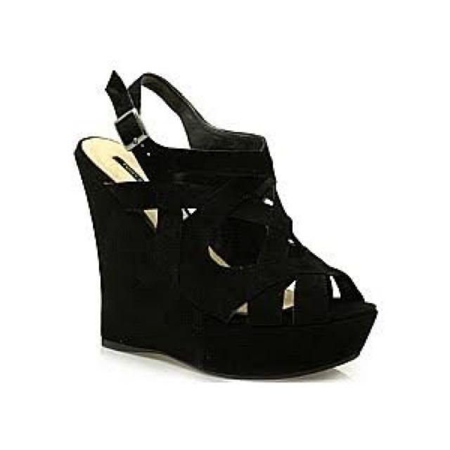 Tony Bianco Suede Wedges