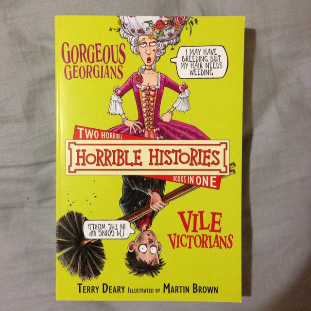 Two Horrible Histories Books in one