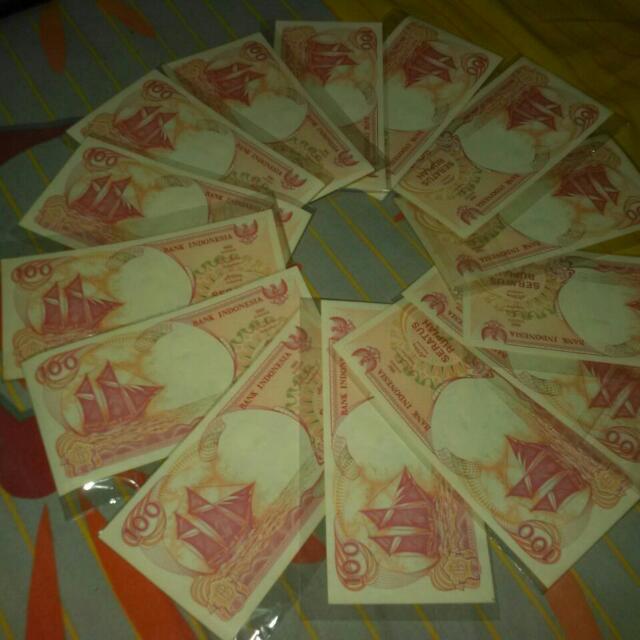 Uang Rp.100,- Perak