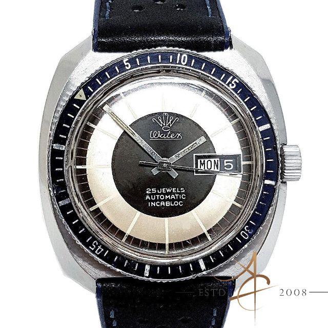 864f49da349 Watex Vintage Diver Automatic Incabloc Watch
