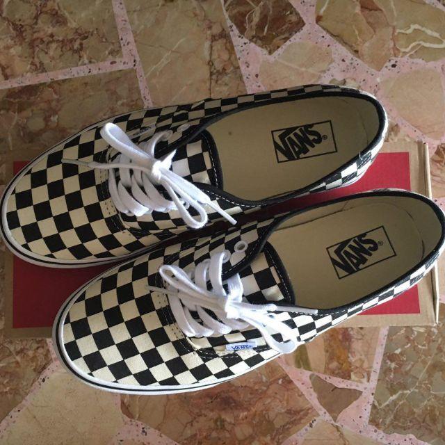 Vans Authentic Checkerboard (Golden