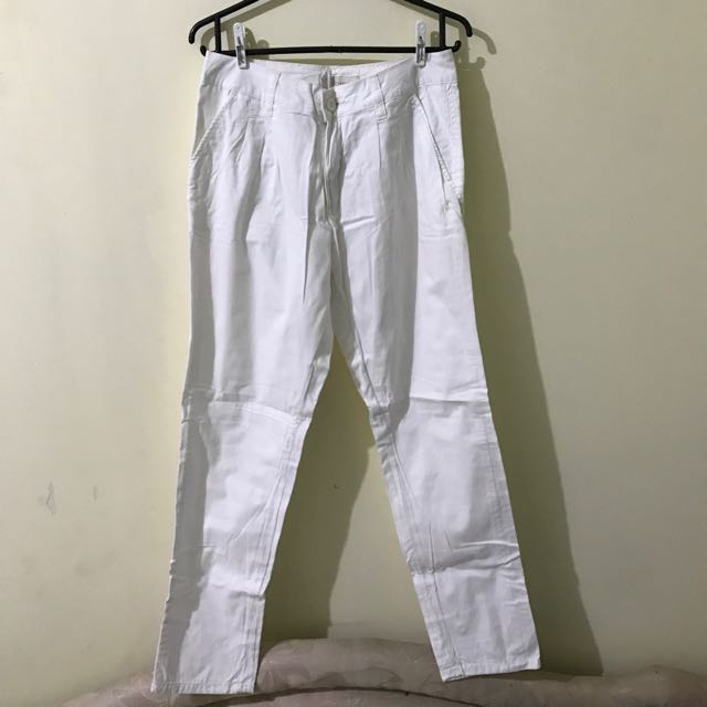 white pants by colorbox