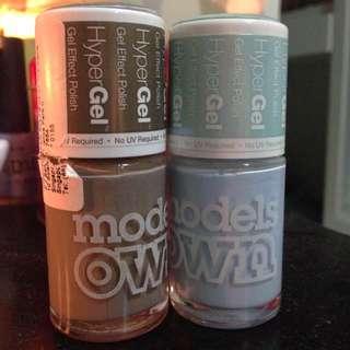 2x Modelsown Nail Gel Polish
