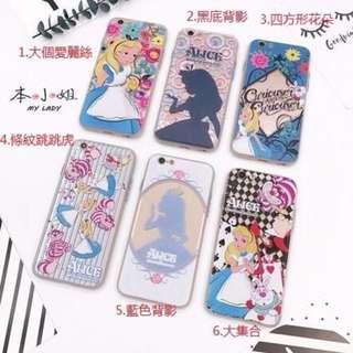 iphone 7 (4.7寸)手機殼 磨砂質感愛麗絲公主 iphone 7 手機殼