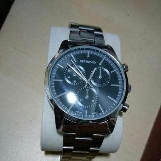 造型假三眼式鋼錶便宜出售