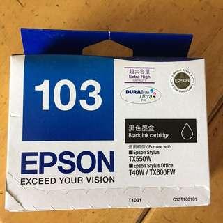 EPSON 103 超高容量墨水盒 (黑色)