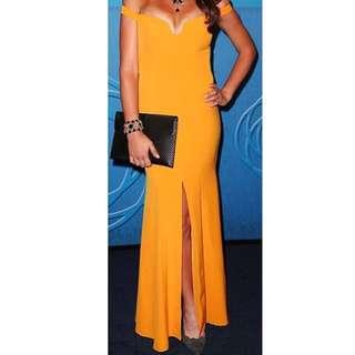 Orange Size 10 Bariano Dress