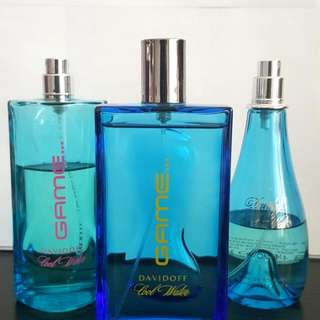 DAVIDOFF Cool Water Game Cologne for Men 100ml & Cool Water Perfume for Women 100ml