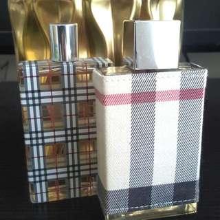 BURBERRY London Perfume 100ml &  BURBERRY Brit Perfume 100ml