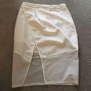 Women's White Skirt