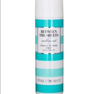 Between the sheets powder spray Caribbean pure romance