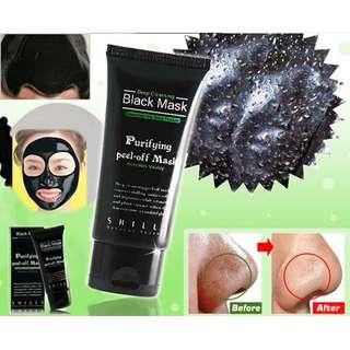 Black Mask SHILLS Nose Blackhead Acne Pore Deep Remover Cleansing Strip Black Mud