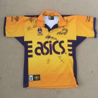 Signed Parramatta Eels Jersey
