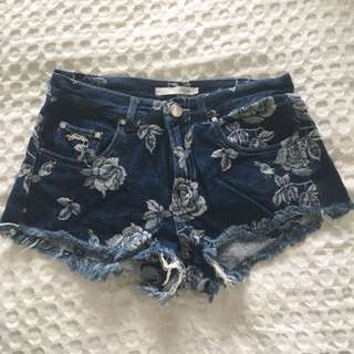 Stussy - Denim High Waisted Shorts
