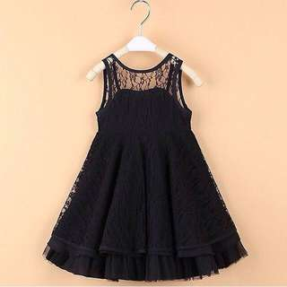 Gaun Dress Girl 6 Tahun